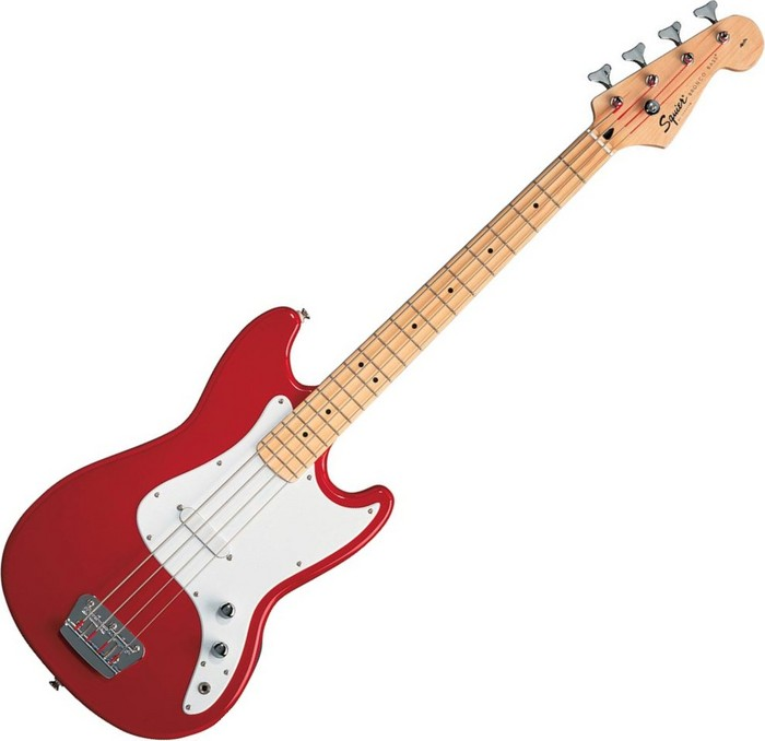 Squier Bronco Bass Torino Red