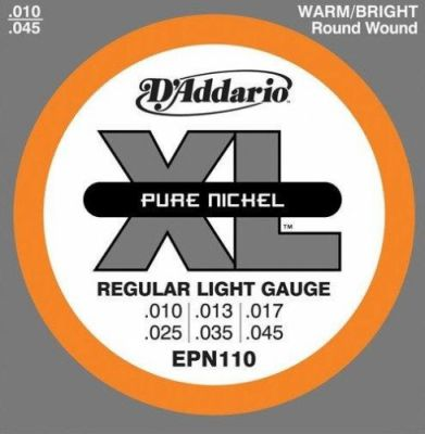 D'Addario Pure Nickel EPN110