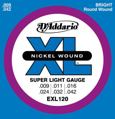 D'Addario Super Light EXL120