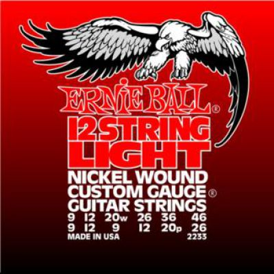 Ernie Ball NICKEL WOUND 12 LIGHT WOUND G